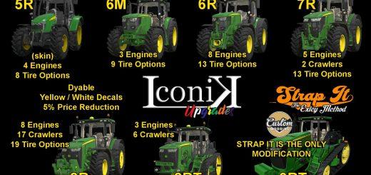 Iconik JD Tractors v 1.0