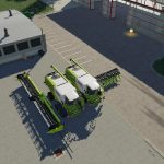 Lexion 780 with capacity selection and cutters v 1.1