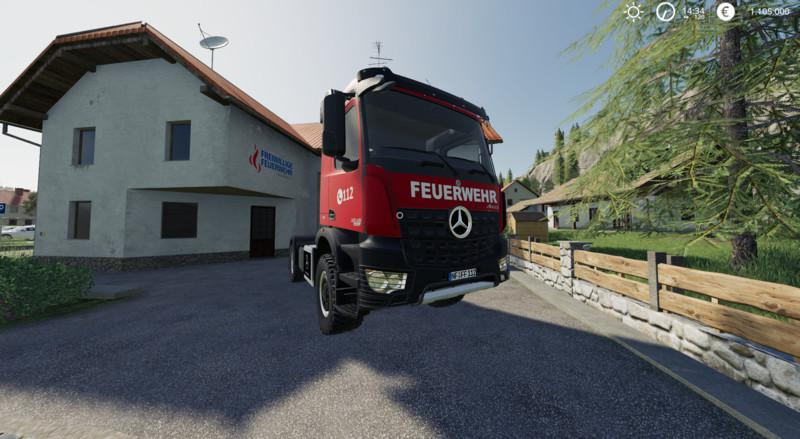 Mercedes Benz Fire Department Edition v 1.0