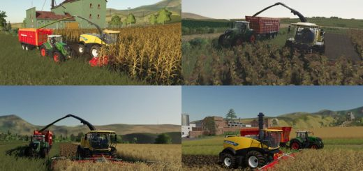 Multi Harvest Headers v 1.0