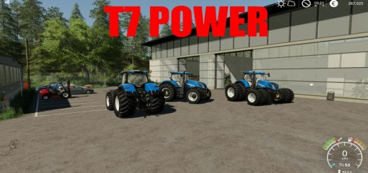 New Holland T7 Power v 1.0