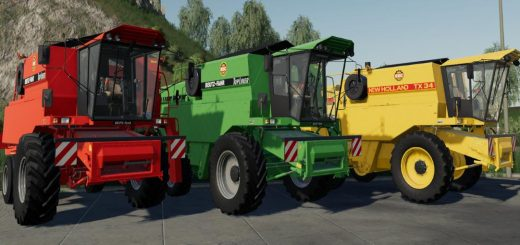 New Holland TX34 / Deutz-Fahr Topliner Prototyp v 1.0