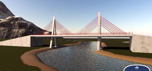 Placeable Prefab Bridge FS19 v1.0