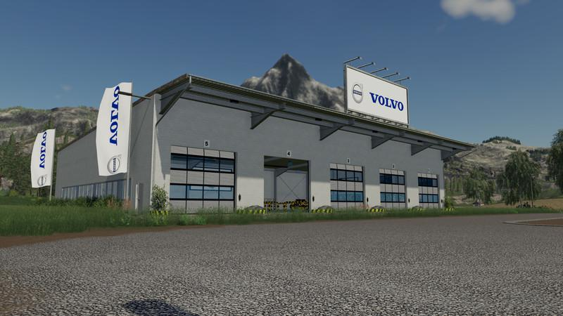 Placeable Volvo hall v 1.0