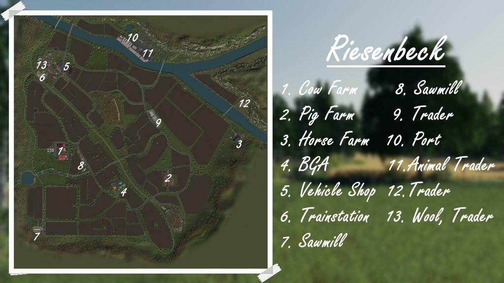 Riesenbeck Map v 1 0 | FS19 mods, Farming simulator 19 mods