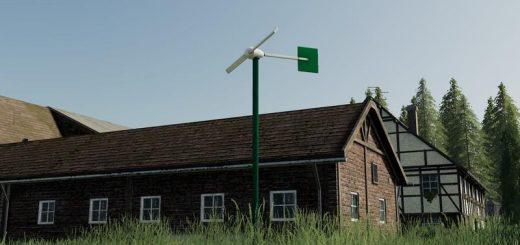 Two-wing mini wind turbine v 1.0