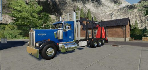 D3 Kenworth W900 Rear Mounted v1.0.0.2