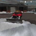 Dodge Power Wagon plow v1.0