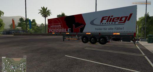 FS19 FLIEGL AUTOLOADER TRAILER v1.0