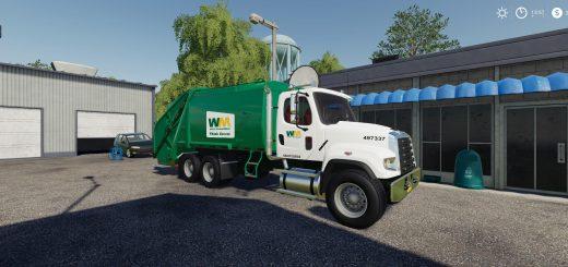 Freightliner F114SD Garbage Truck v1.0
