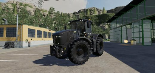 JCB FASTRAC 8330 BLACK WARRIOR v1.0
