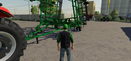 John Deere 2410 3 section plow V1.0