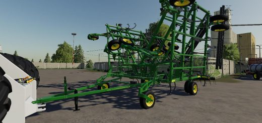 John Deere 2410 5 section plow v1.0
