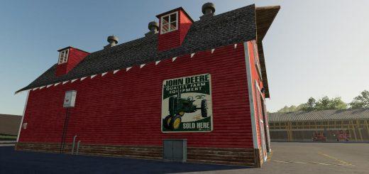 John Deere Bale Barn v1.0