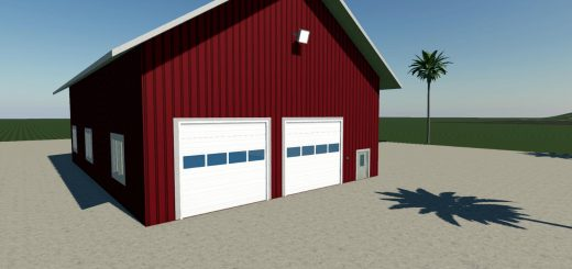 Large Garage FS19 v1.0