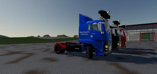 MAN TGS 18.500 BlackImpulse Edition v2.0
