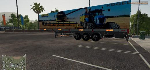 New Holland Kogel Autoloader Trailer v1.0
