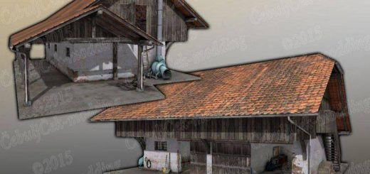 Old EU barn placeable v1.0