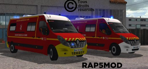 Renault Master SDIS81 v1.0