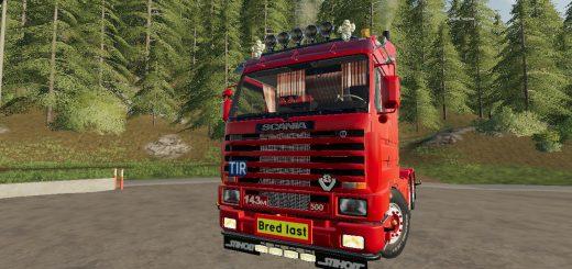 Scania 143 6x4 Swedish Edit v1.0