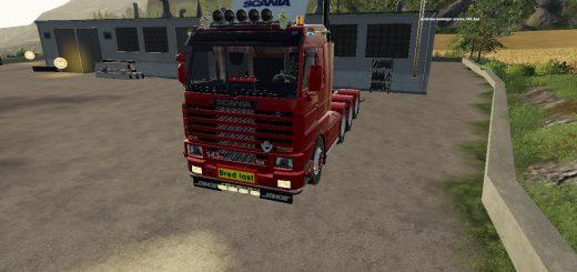 Scania 143 8x4 Swedish Edit v1.0