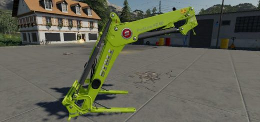 Stoll FZ 60 Claas green v1.0