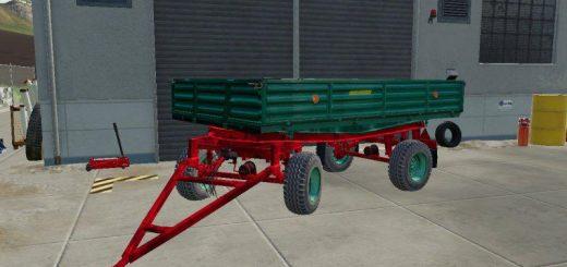 Trailer Autosan D47 Green v1.0