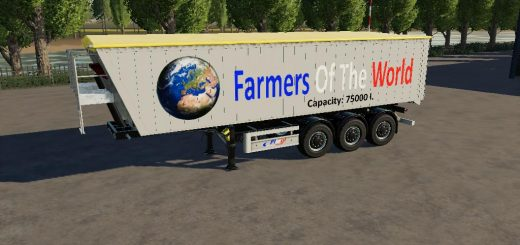 Trailer Farmers Of The World By BOB51160 v1.0