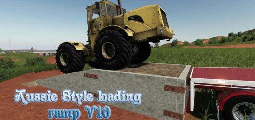 Aussie Style loading ramp v1.0
