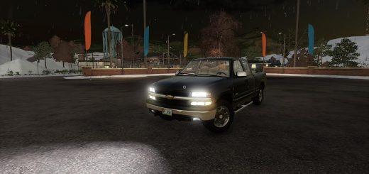 Chevy Silverado 1500 plow v1.0