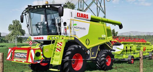 Claas Lexion 600 Series v1.0