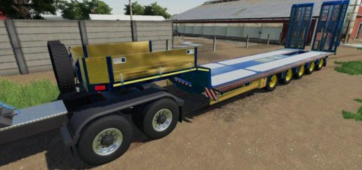 DOLL LOW LOADER TRAILER v1.0