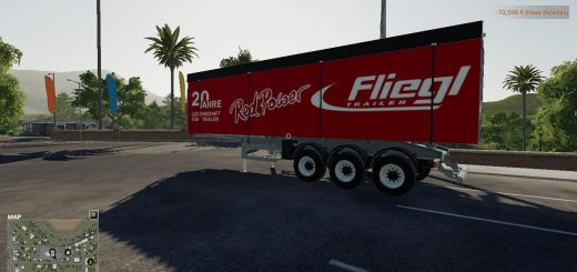 FS19 FLIEGL TIPPER RED POWER v1.0