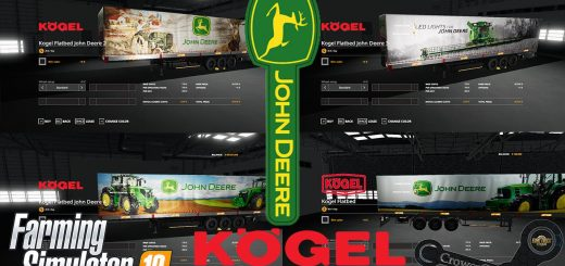 FS19 John Deere Kogel Pack Trailers by CrowerCZ