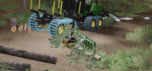 Kirmag Tree Waste Rake v1.0