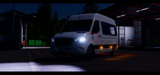 Mercedes Benz Sprinter Tourer 2018 v1.0