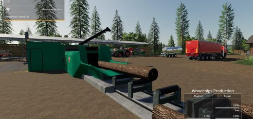 Placeable Jenz Global Company Wood Chipper by Stevie