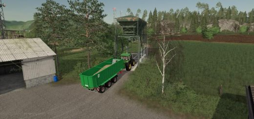 Placeable Steel Silo v1.0