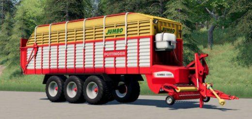 Pottinger Jumbo Loading Wagon (43000 Liters) v1.0