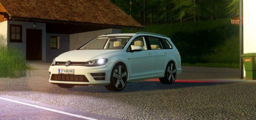 Volkswagen Golf R Variant 2015 v1.6
