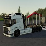 Volvo FH16 Forest Truck Fs19 v1.1