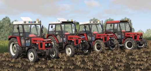 Zetor 77 Serie pack (Real Sounds) v1.0