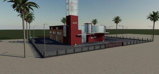 Coca Cola Factory FS19 v1.0