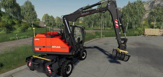 Excavator ATLAS Pack v1.0