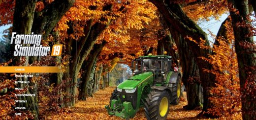 FS19 Autumn 2019 Menu Background by CrowerCZ