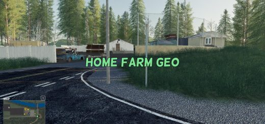 FS19 Home Farm GEO v1.0