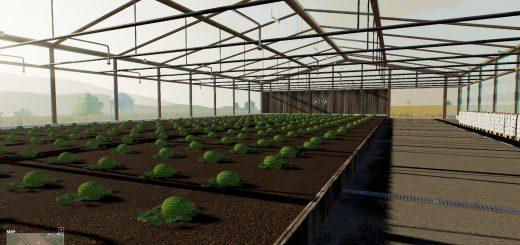 FS19 Watermelon Greenhouse v1.0