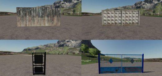 Fences and gates v1.0