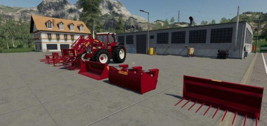 Frontloader Tools (Fendt Farmer / IHC Family) v1.0