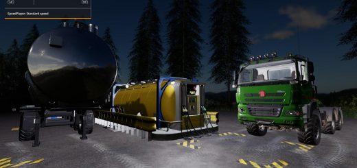 Global Company Remote Diesel Storage by Stevie